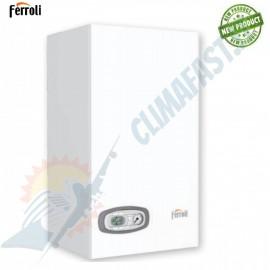 Caldaia a condensazione Ferroli Divacondens D Plus F 24 Low Nox con kit scarico fumi omaggio