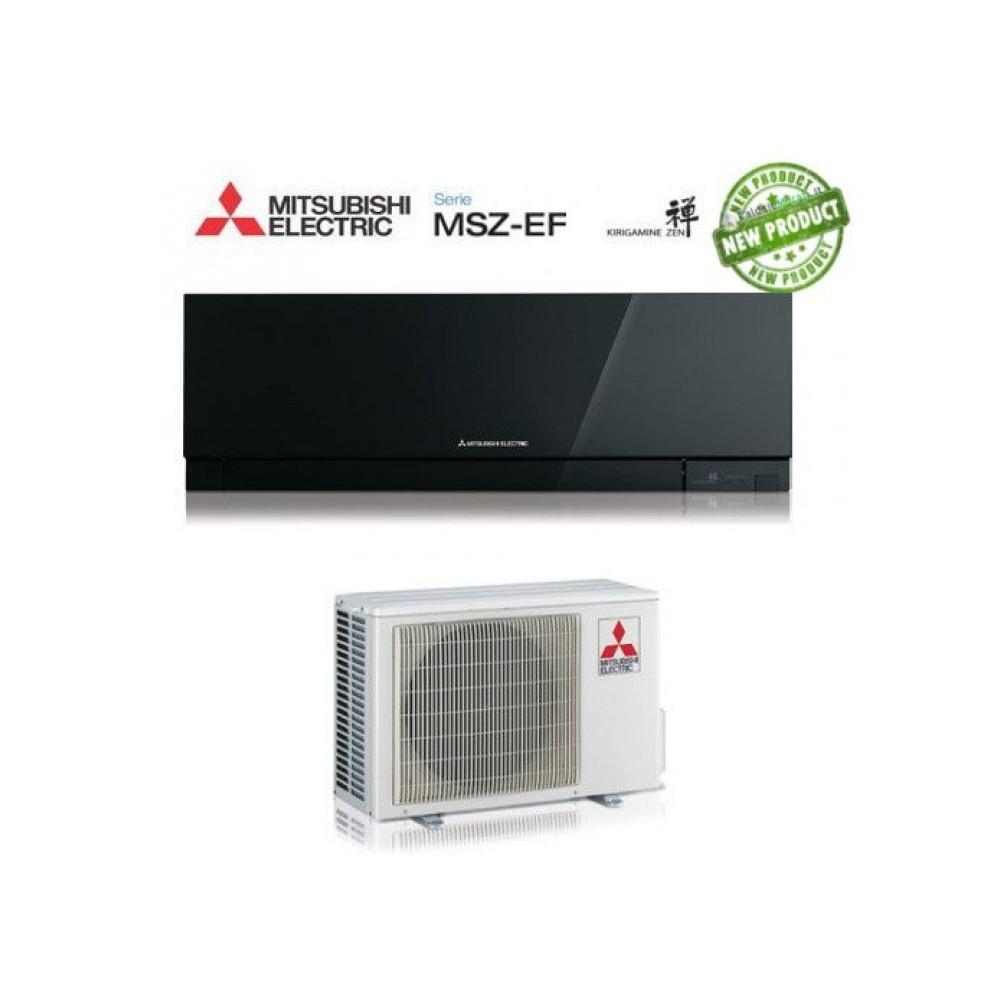Climatizzatore Condizionatore Mitsubishi Electric Inverter Kirigamine Zen 12000 Btu Msz-Ef35ve2/3b Black A+++