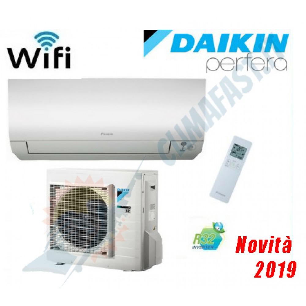 CLIMATIZZATORE CONDIZIONATORE DAIKIN Bluevolution INVERTER PERFERA 12000 btu Wi-Fi incluso A+++ R-32 FTXM35N