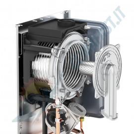 Caldaia a Condensazione Unical X 24 x24 con kit scarico fumi in omaggio